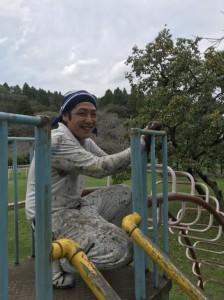 母智丘公園遊具塗装ボランティア活動写真_171003_0054