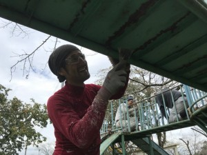母智丘公園遊具塗装ボランティア活動写真_171003_0050